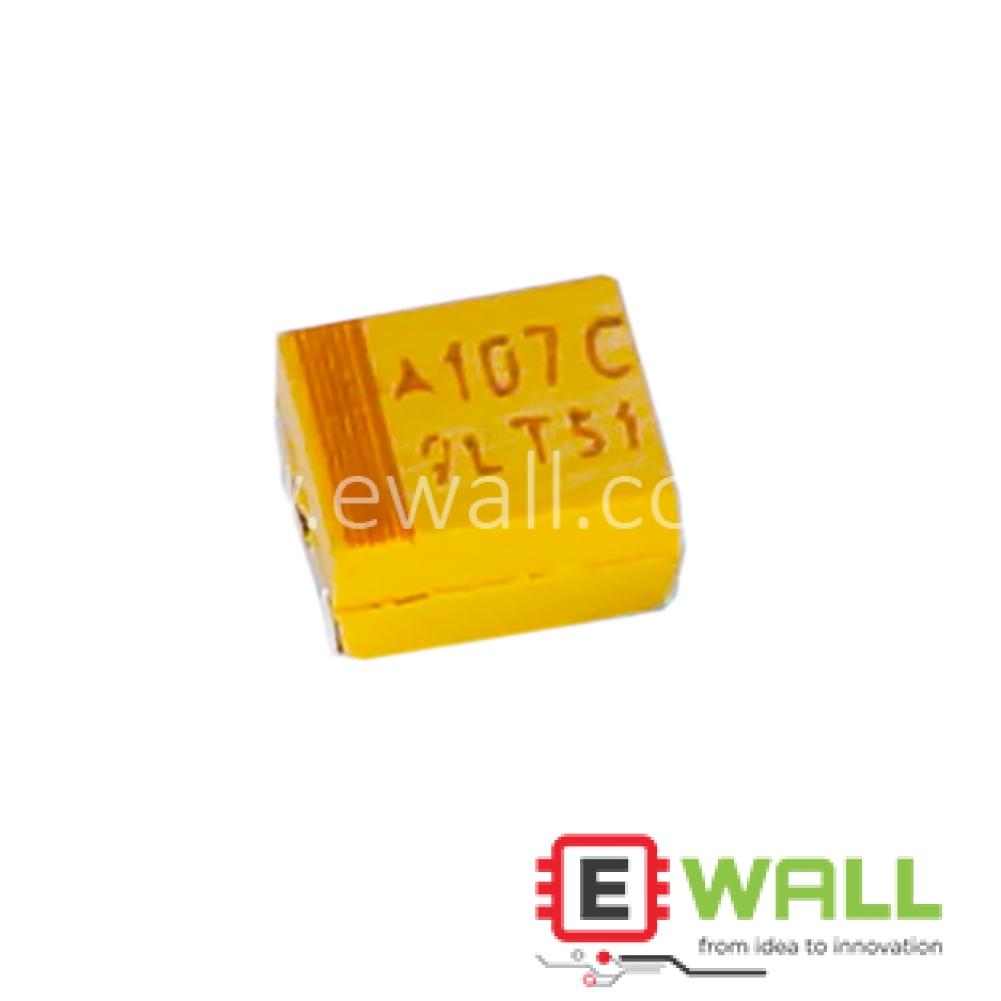 B Type 16V 100UF Tantalum Capacitor 107C 3528/1210 100UF 16V type B