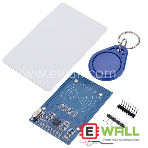 MIFARE RC522 13.56Mhz RFID Reader Module with Tags