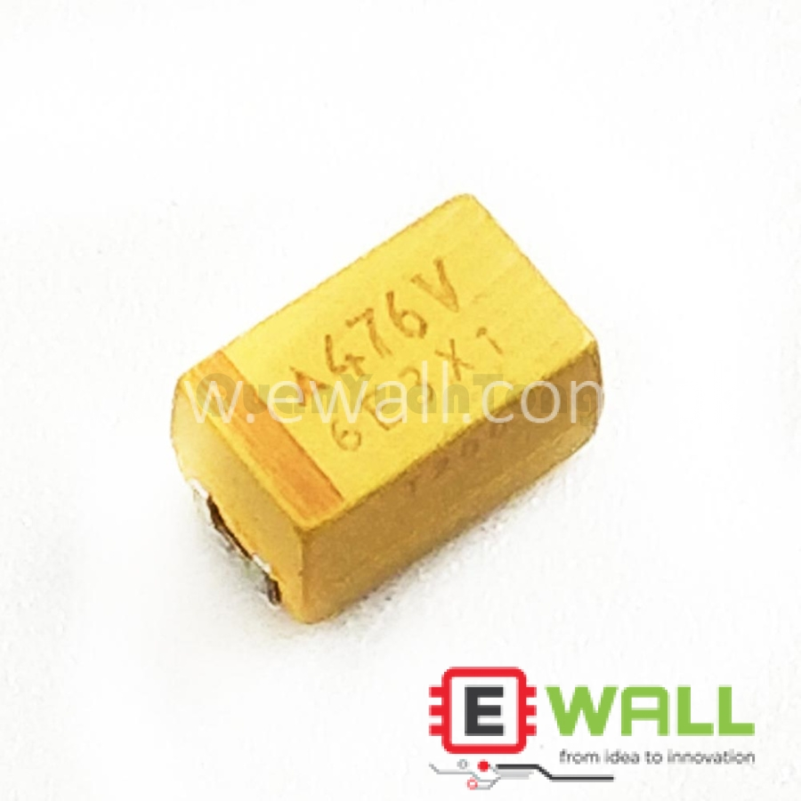 B type 16V 47UF 476V Tantalum Capacitor 3528 1210 bile capacitor has polar capacitance