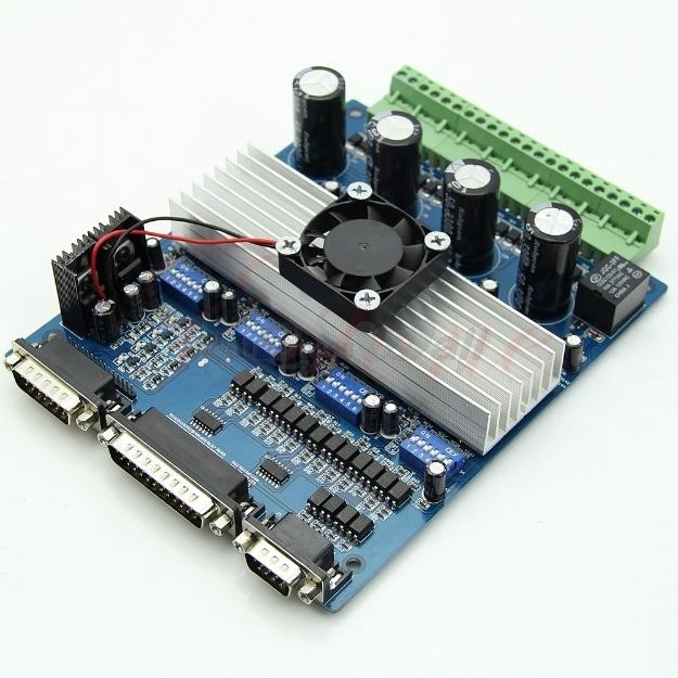 4 Axis CNC Controller TA8435H Stepper Motor Driver Board Mach 2 3 For CNC Machine