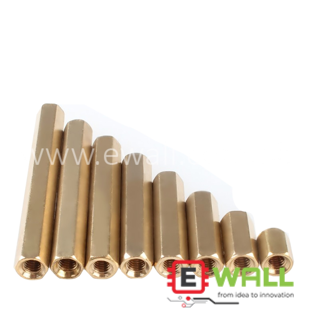 Double-Pass Hexagonal Copper Column/Stud Hollow Copper Column/Isolation Column (10MM)