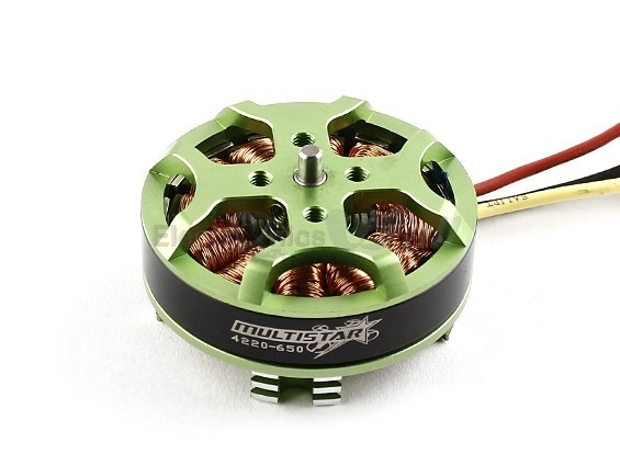 Turnigy brushless motor Multistar 4220 650Kv 16 Pole Multi-Rotor Out runner