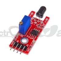 Flame Sensor (Fire Detector) Module Red