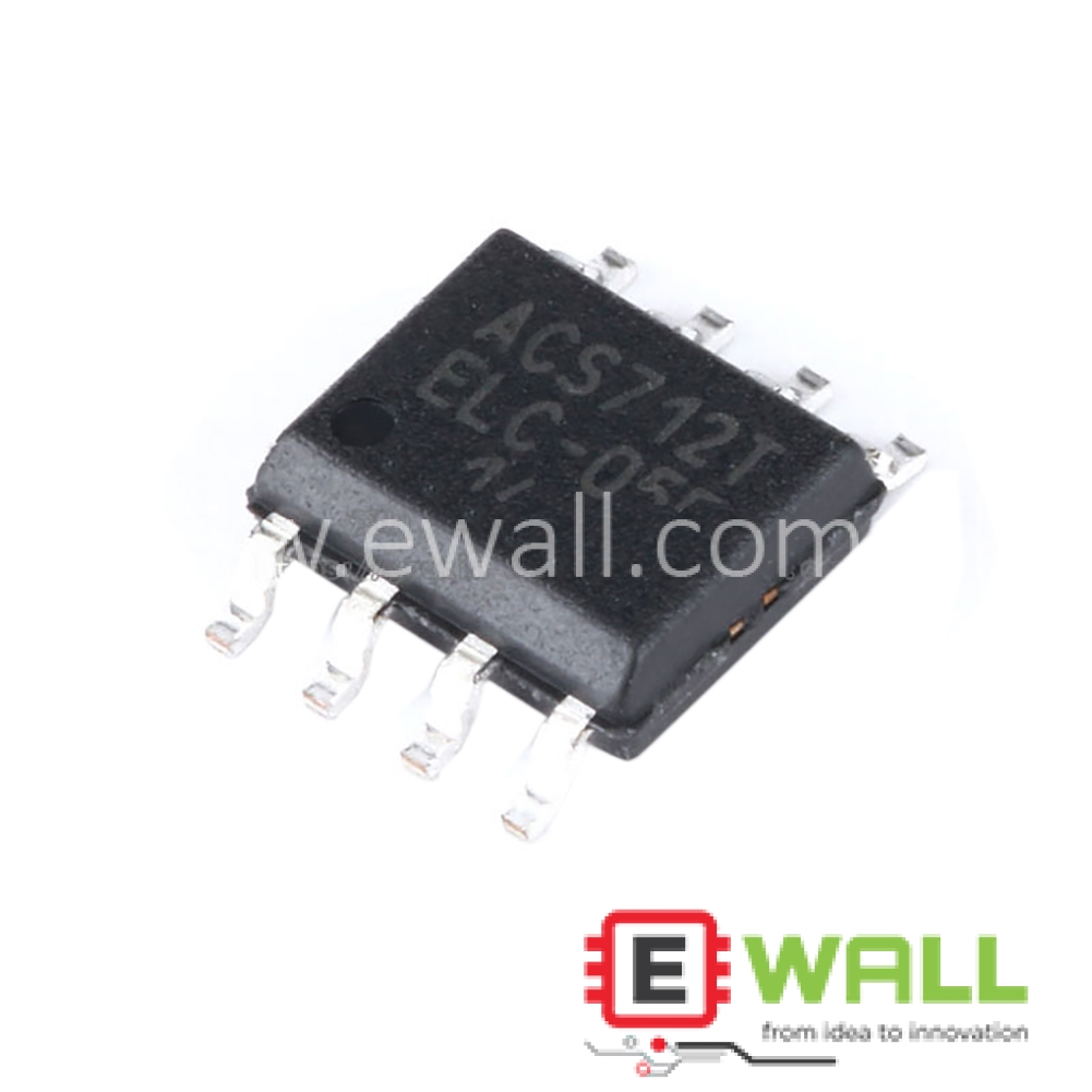Original Authentic SOP-8 ACS712ELCTR-05B-T Current Sensor Voltage Isolation