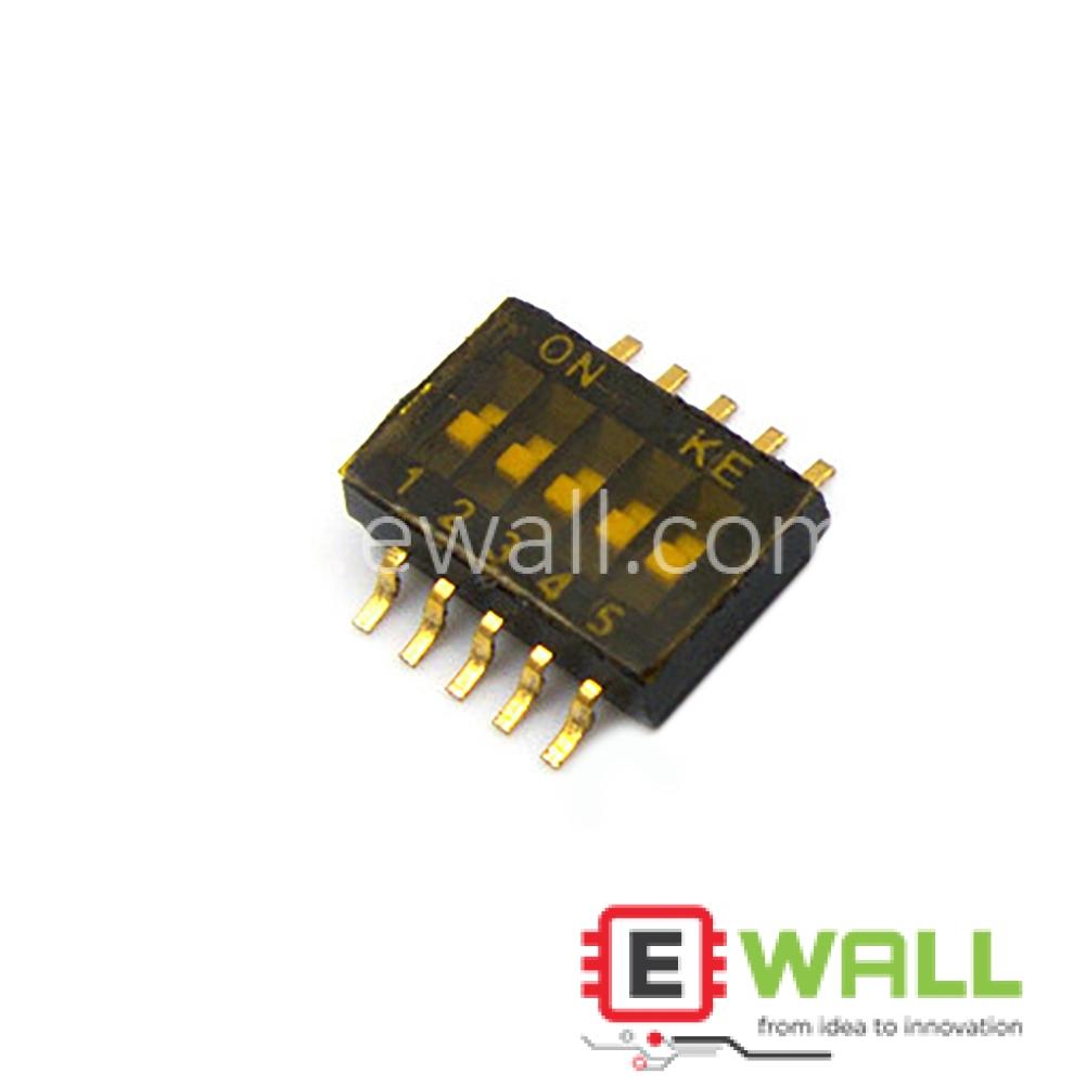 KE DIP Switch 1.27 5P Bit Dial Switch 1.27MM