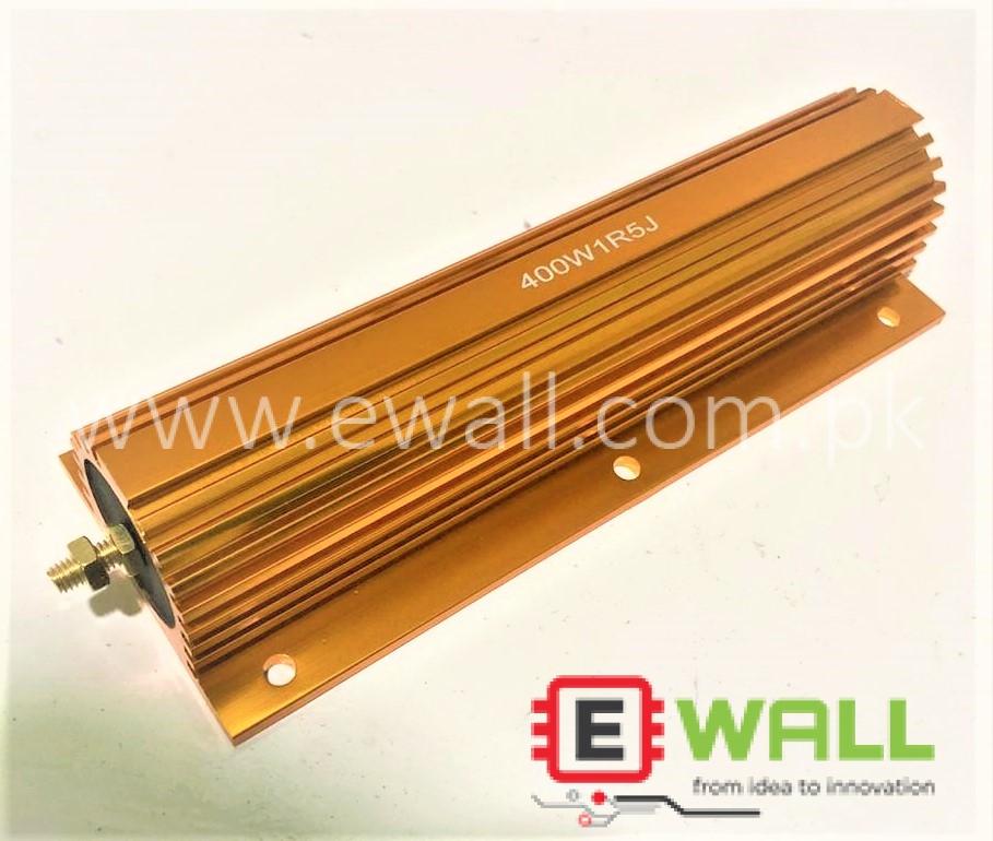 400W Gold Aluminum Case 1R5J Thermal Resistance Load Resistance