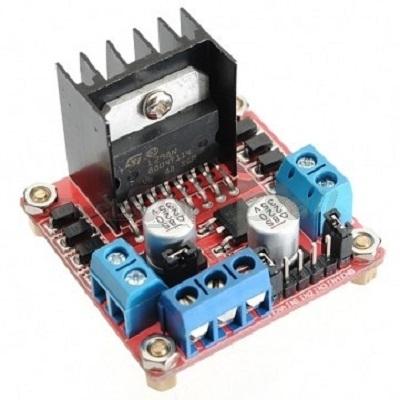 Dual H Bridge Motor Driver Module (L298)