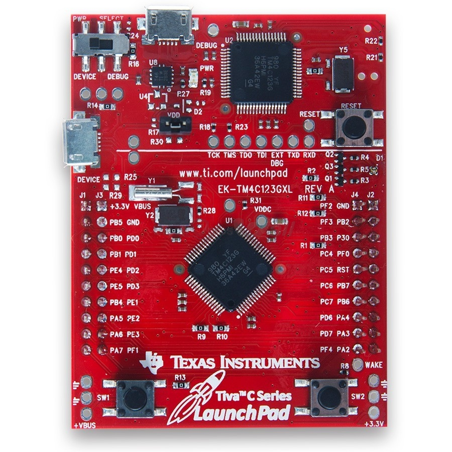 EK-TM4C123GXL Tiva ™ C Series TI LaunchPad evaluation kit
