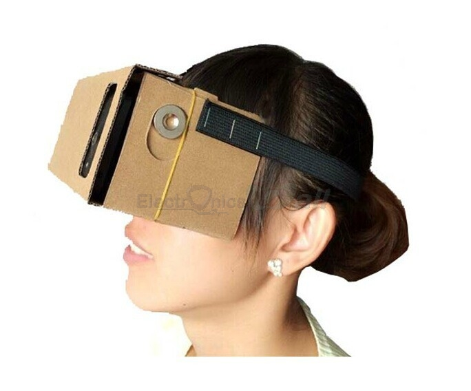 Google Cardboard Virtual Reality VR Headset Kit