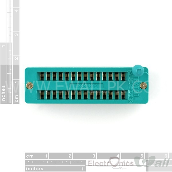 ZIF Socket 28-Pin 0.3