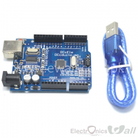 Dccduino (Arduino Compatible) UNO with usb cable