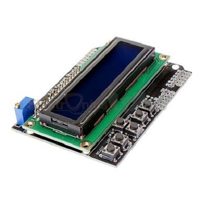 ARDUINO LCD 1602 (16x2)KEYPAD SHIELD (BLUE LCD)