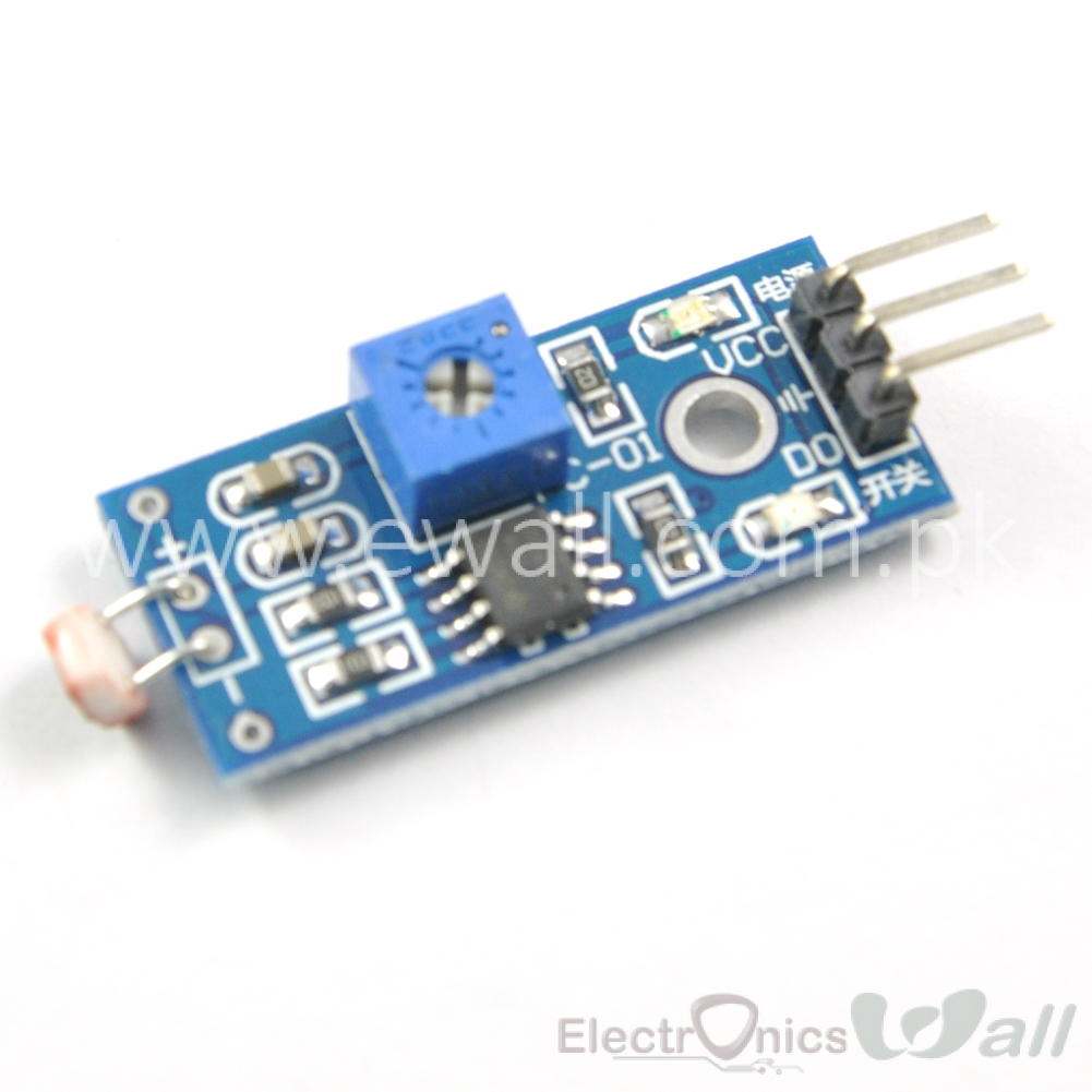 Photosensitive Resistor LDR Light Sensor Module