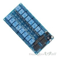 16 Channel Relay Module Interface Board