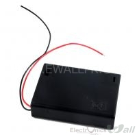 AA 3 Cell Battery House Case Box with ON/OFF Switch