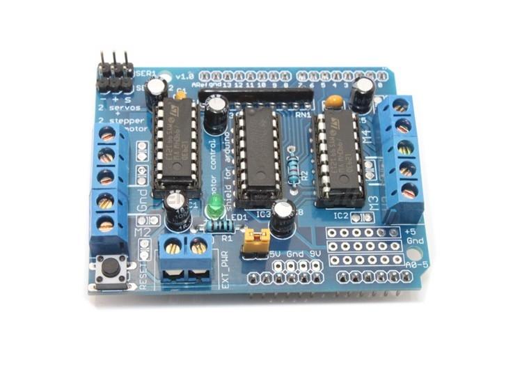 Arduino Stepper Motor/Servo/DC Motor Shield