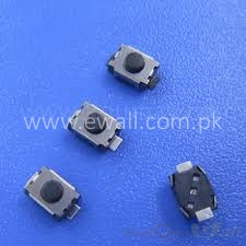 21-  3x4x2 SMD 2pin PushButton (10 pcs packet)