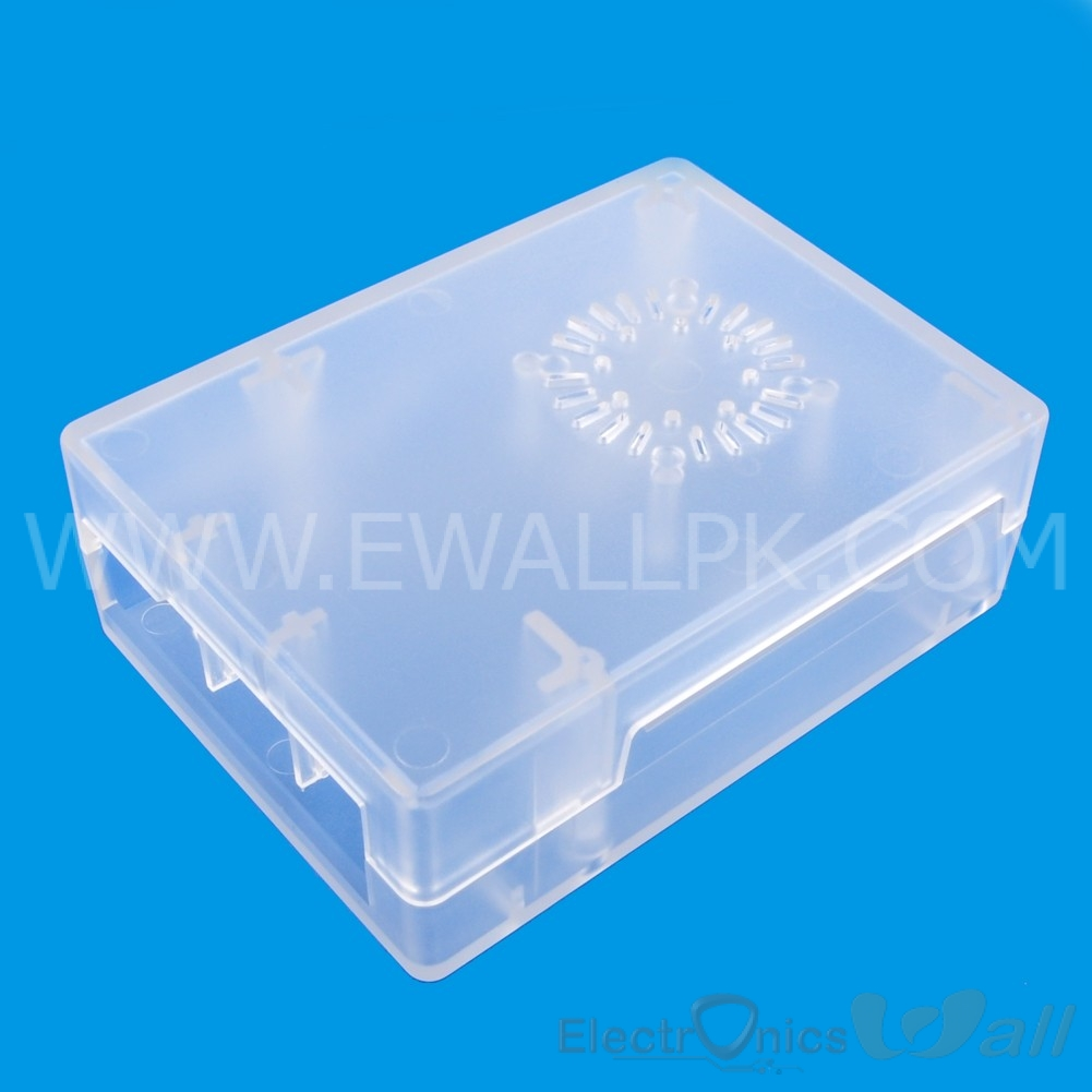 Transparent Case for Respaberry Pi B+ PI2 PI3 Support Fan Instalation