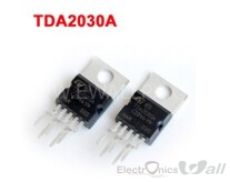 TDA2030 Linear Audio 18 W hi-fi amplifier and 35 W driver