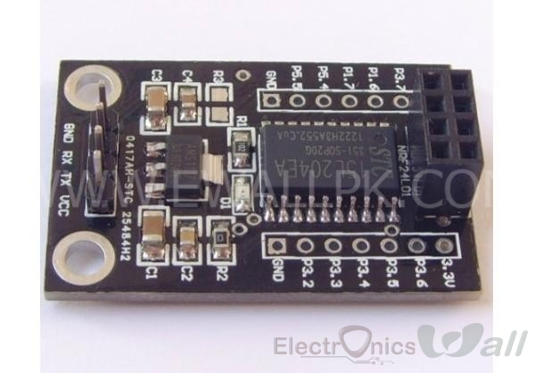 NRF Serial Convertor ( STC15L204 Wireless Driver Board)