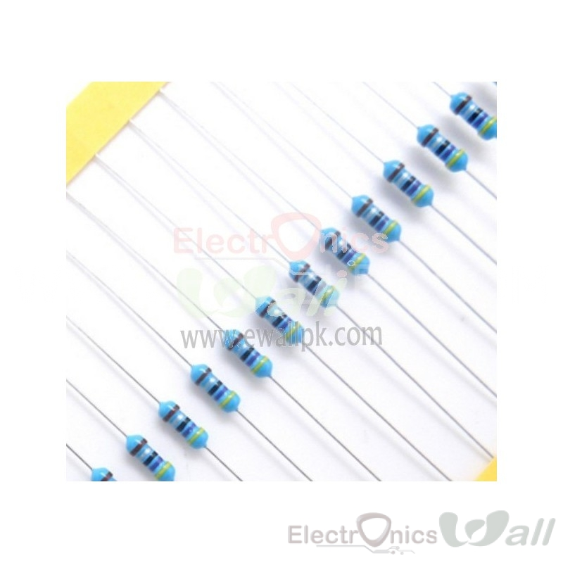 4.7R 1/4W 1% Through hole Resistor ( 20pcs packet)