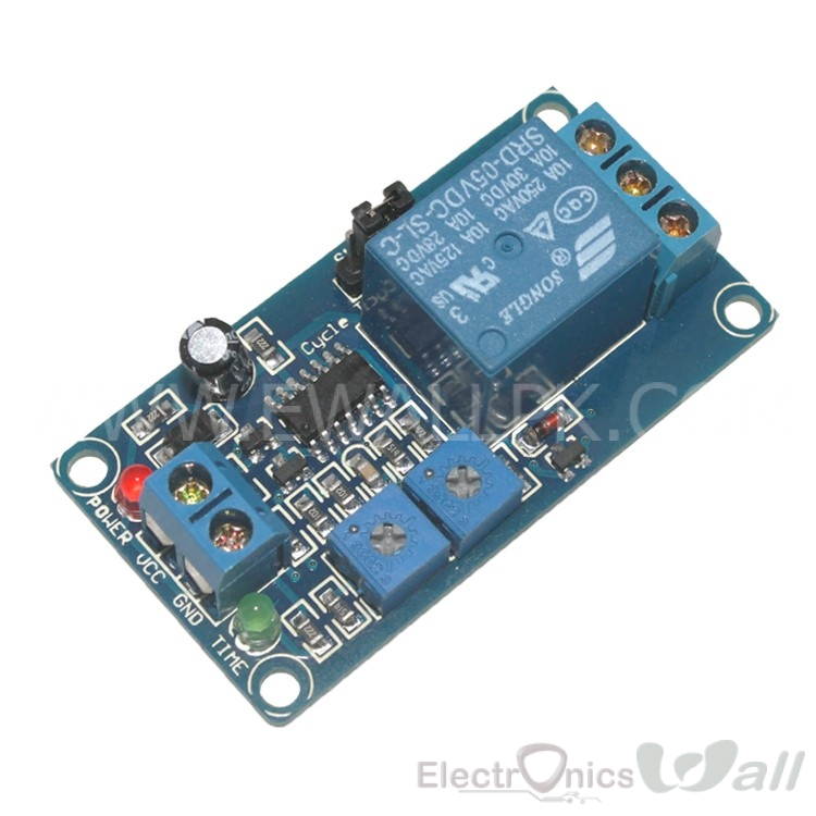 5V Loop Delay Switch Relay Module