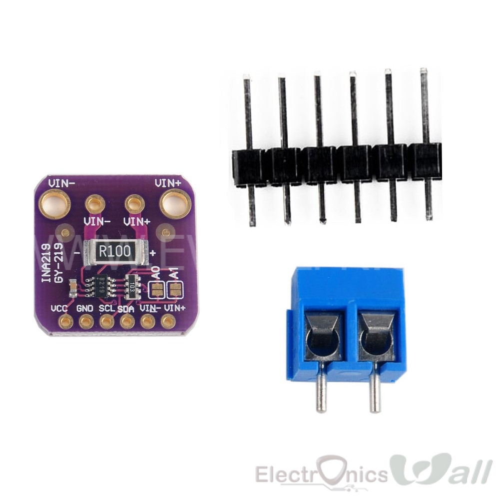 INA219 26V DC I2C Base Current Sensor