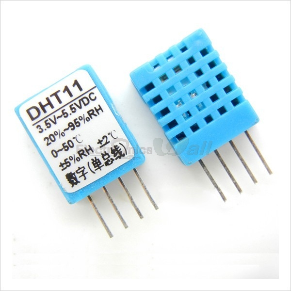 DHT11 (Digital Humidity And Temperature Sensor)