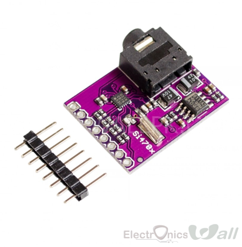 Si4703 FM Receiver Tuner Evaluation Board