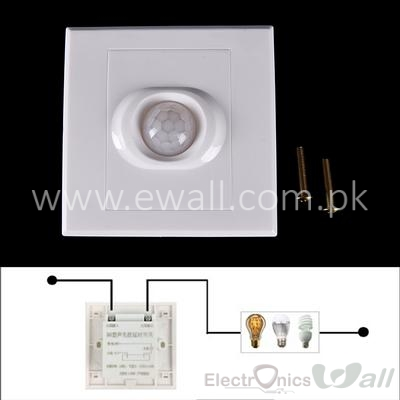 IR Infrared Motion Sensor Automatic Light Lamp Switch 250V PIR