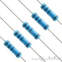1R 1/4W 1% Through hole Resistor ( 20pcs packet)