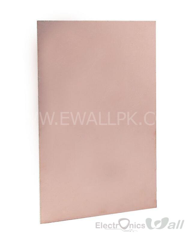 Doulex PCB Board CCL Board 10X10 X1.5mm FR-4 Copper Board