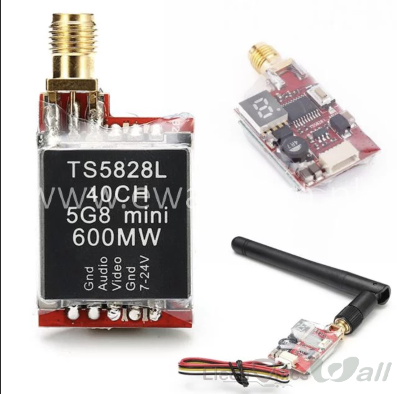 Micro 600mW 5.8G 40CH TX600S 7-24V Wireless Video AV OCDAY Transmitters