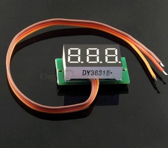 Digital Voltmeter Module
