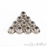 10 pcs M5 Flange Nut CW Anti-Loose for QAV250 210 Racing 2204 2205 Brushless Motor
