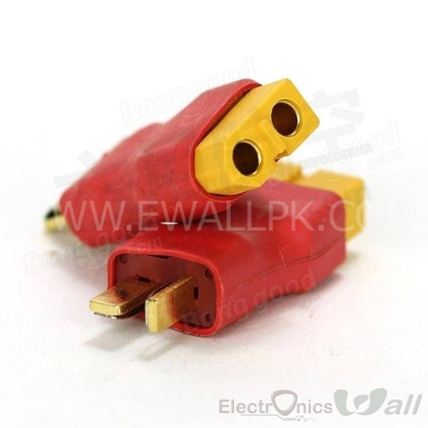 Female XT60 to Male T Plug
