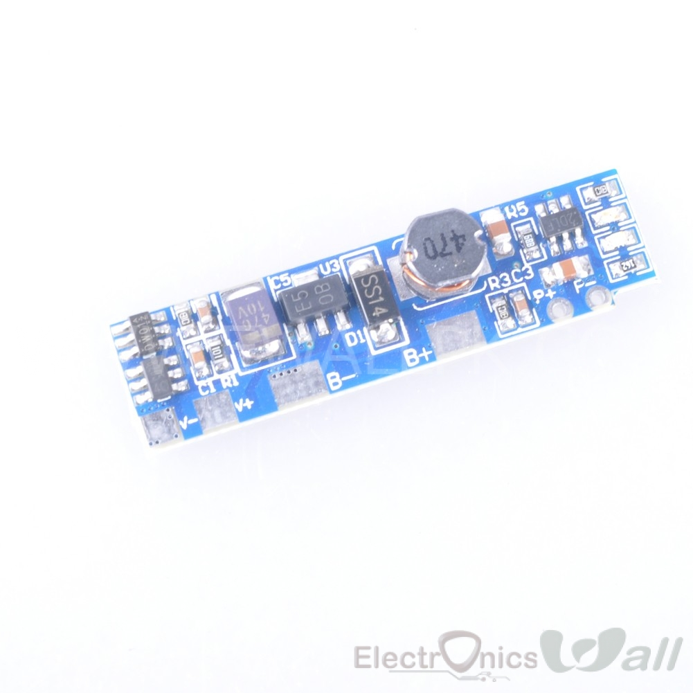 0.5A Mobile Power Bank Circuit Single 3.7V lithium battery to 5V Boost / Step up