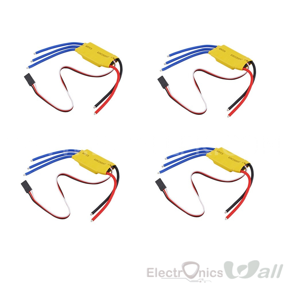 30A Brushless Motor ESC (4pcs Set)