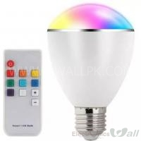 RGB ​​LED lights Bulb diffuse Light with Remote BL07R
