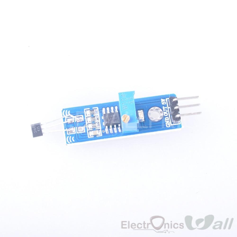 Hall Effect Hall Switch Sensor Magnetic feild sensor module