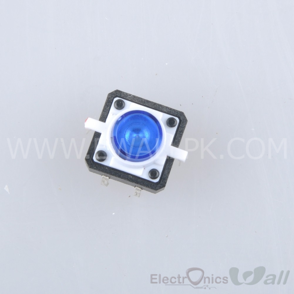 Tactile /Push Button / Switch Momentary Tact With Blue LED