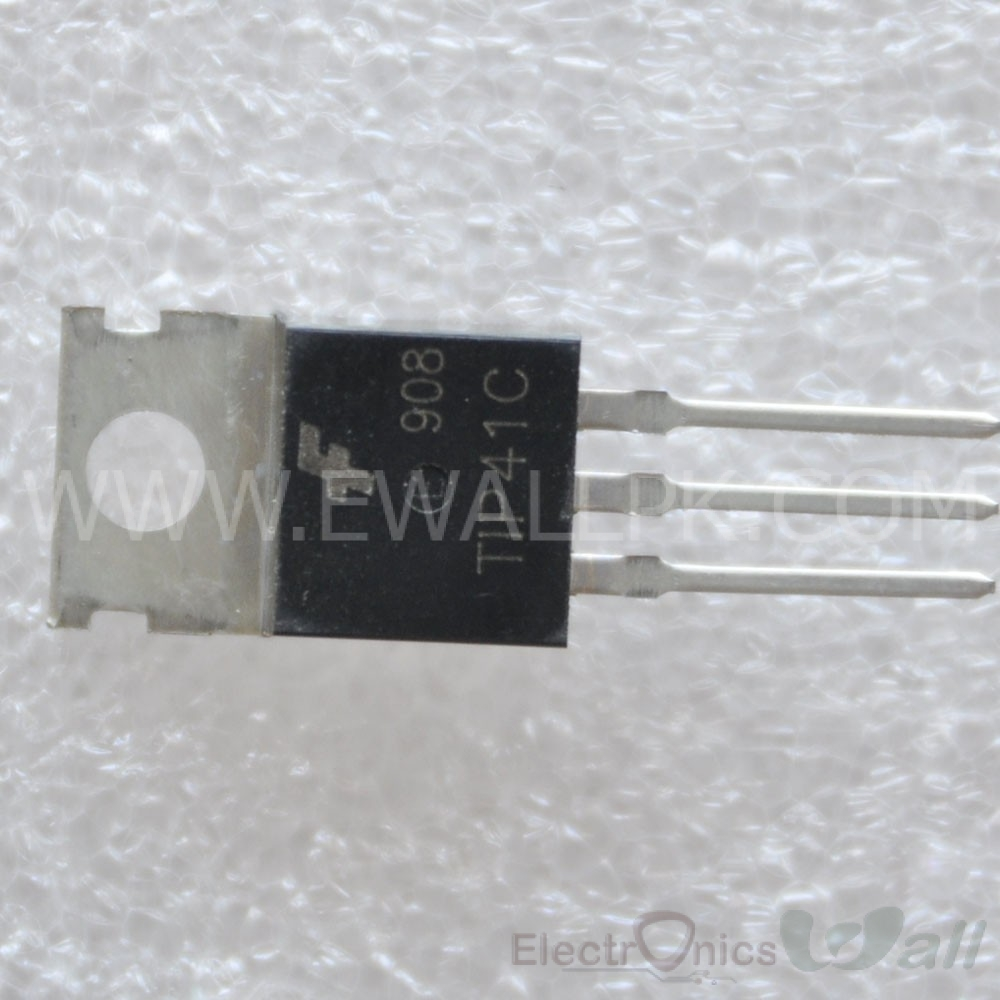 TIP41C 6A 100V General power NPN Transistor (Original)