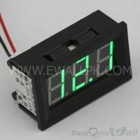 0-300V (4.5-30v Input) Green YB27 Voltmeter Voltage Meter 3 Wire