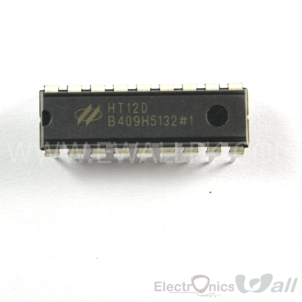 HT12D / HT12F IC 2 into12 Series of Decoders