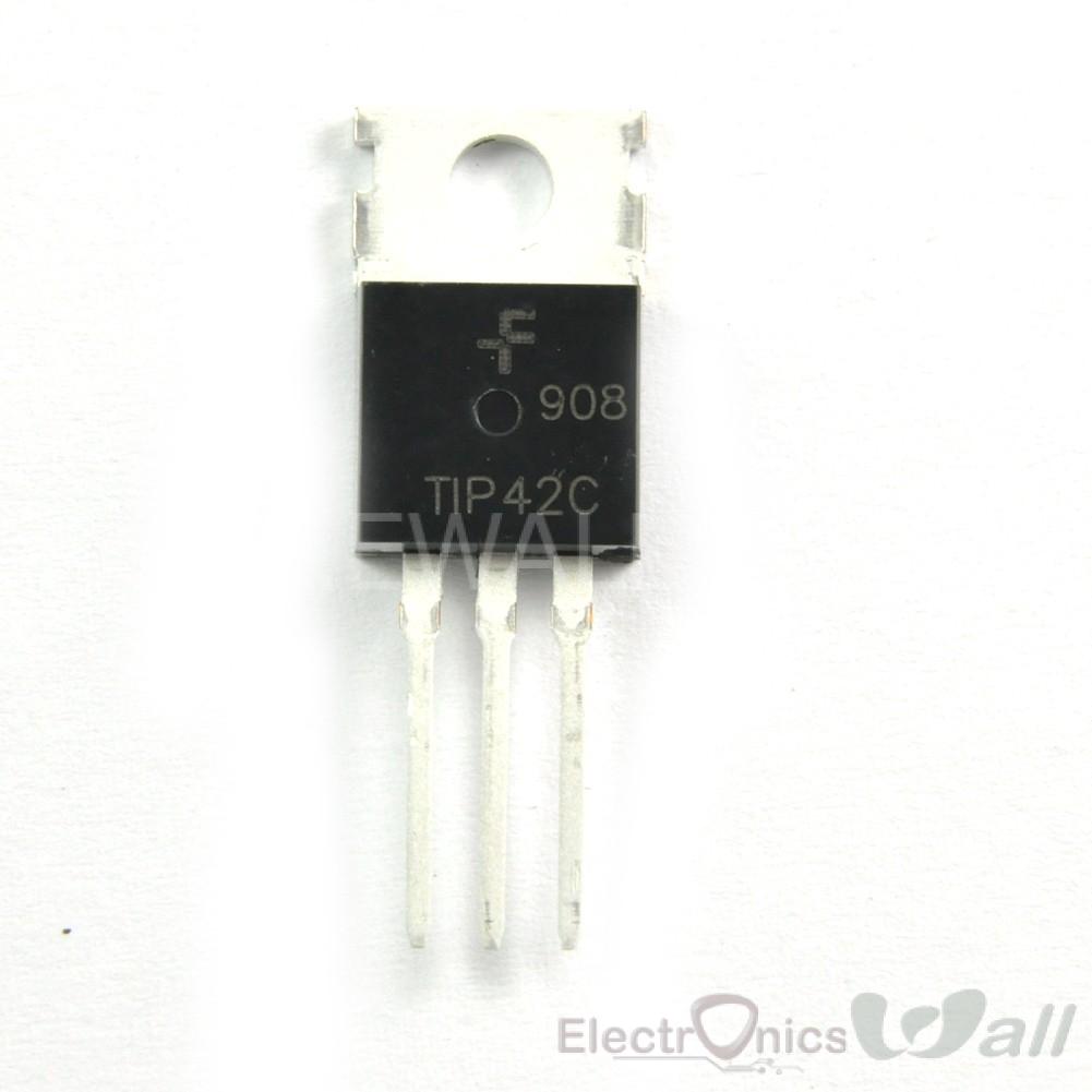 TIP42C TIP42 Power Transistor PNP 100V 6A 65W TO-220 Transistors