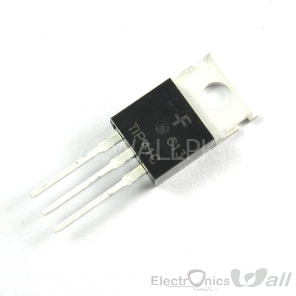 TIP41C TIP41 Power Transistor NPN 100V 6A 65W TO-220 Transistors