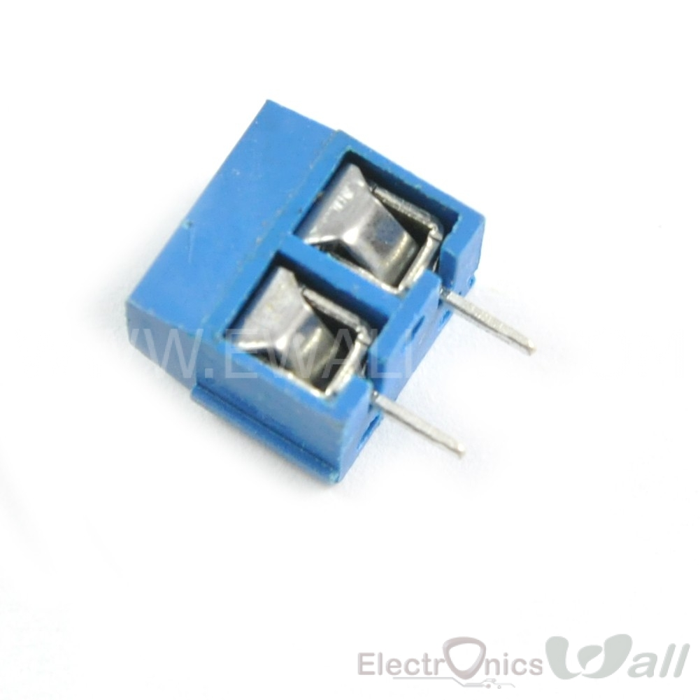 KF301-2P 5.08mm 2pin Blue Terminal Connector