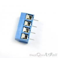 KF301-4P 5.08mm 4 pin Blue Terminal Connector