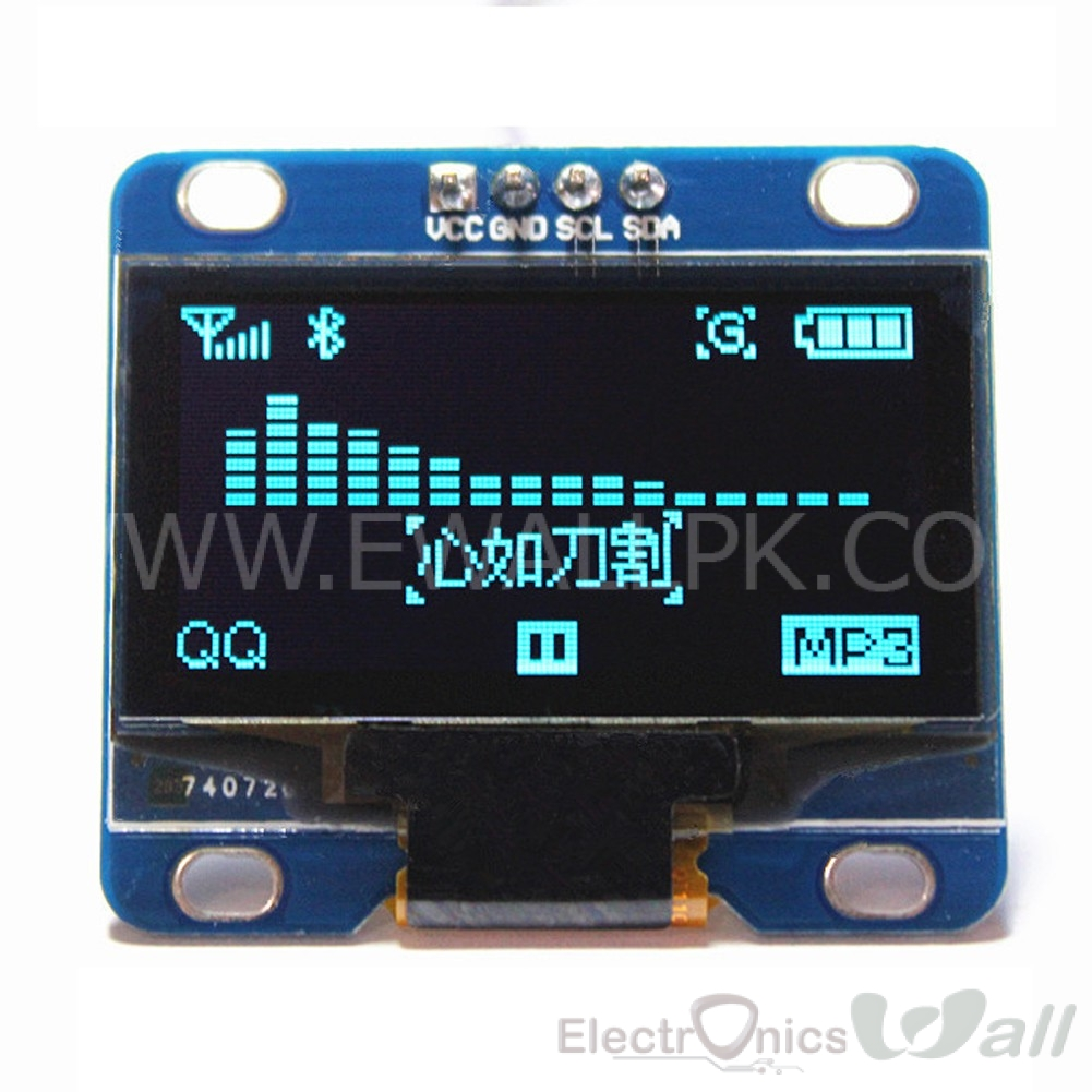 i2c IIC Serial 128X64 (12864) OLED 1.3 Inch Blue LCD Display Module
