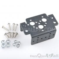 Aluminum Multifunction Servo Bracket Steering Head for Pan and Tilt